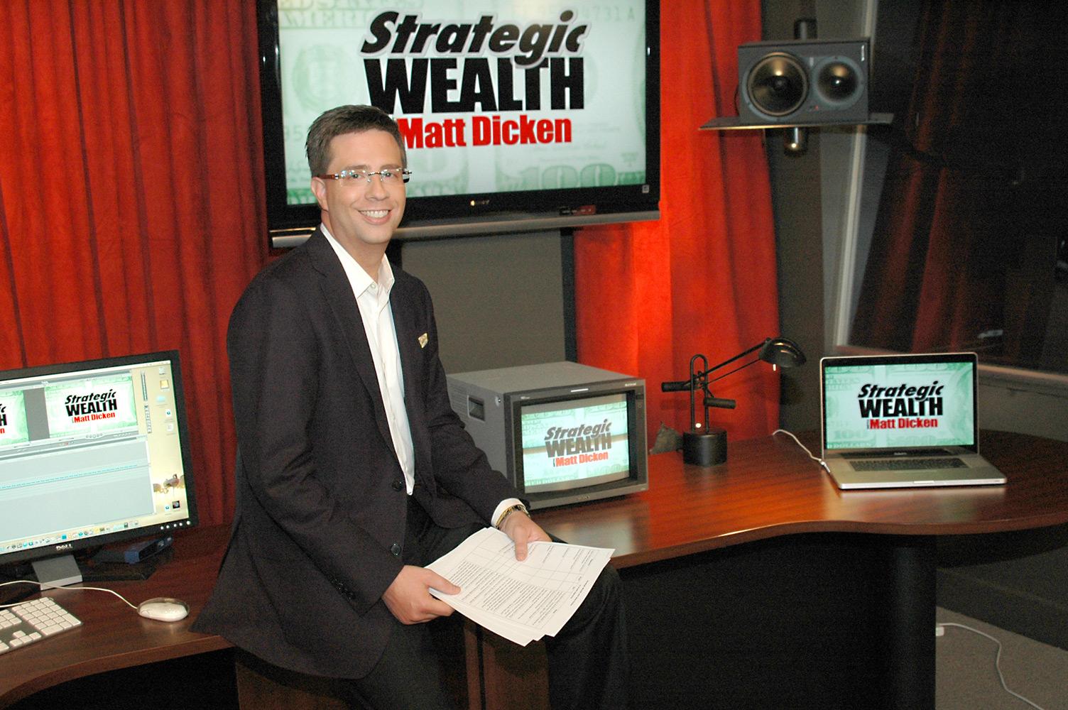 Strategic Wealth Design   Matt Dicken First Louisville TV show