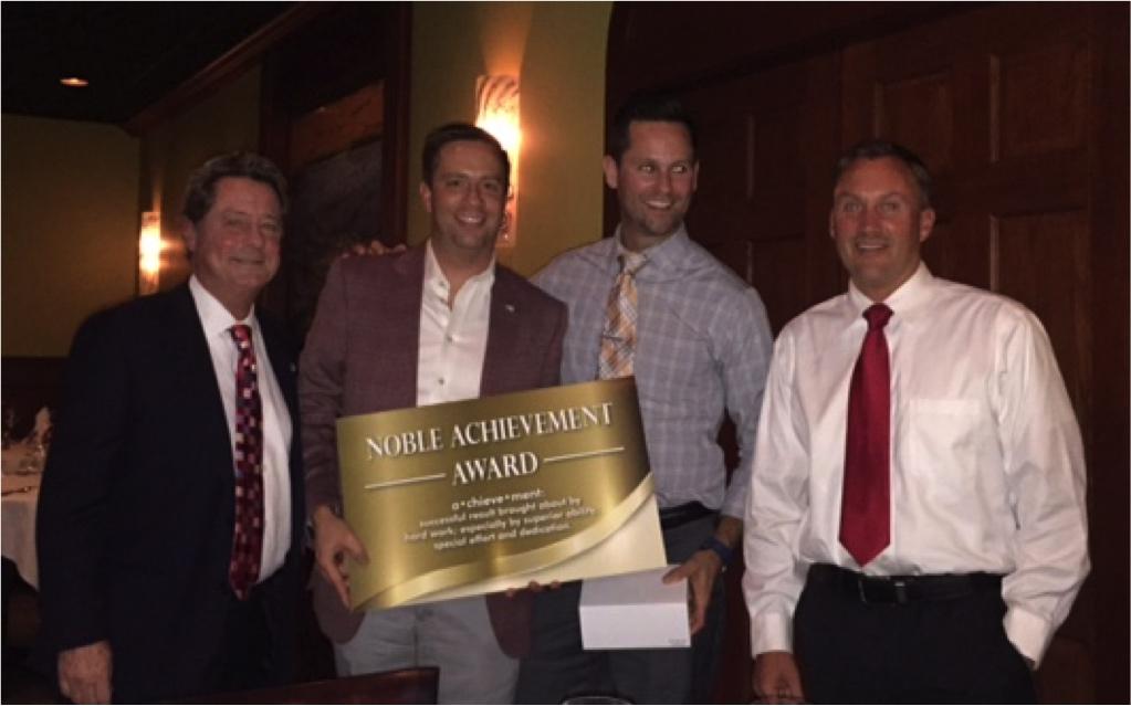 Strategic Wealth Design   Industry Noble Achievement Award 2016