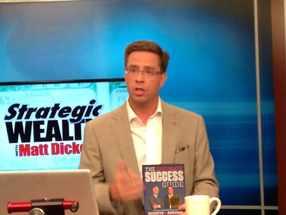 Strategic Wealth Design | Matt Dicken introducing his new book on the news