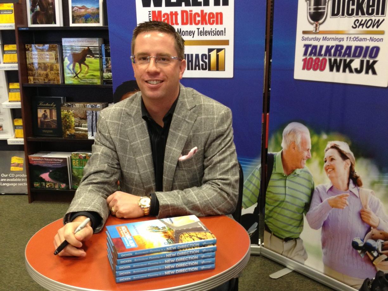 Strategic Wealth Design   Matt's First Book signing