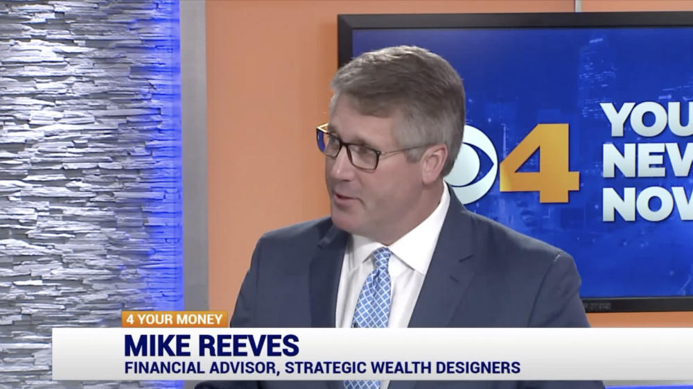 Mike Reeves on CBS 4