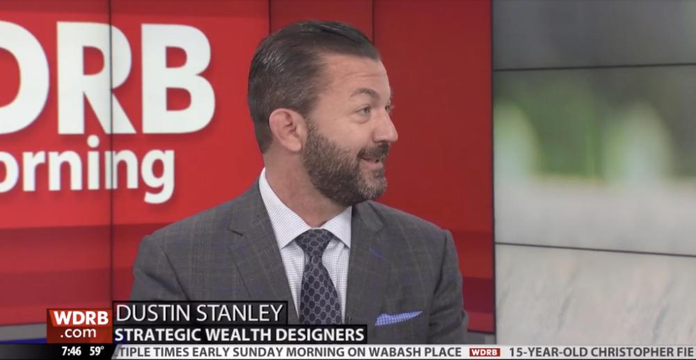 Dustin Stanley talking on WDRB